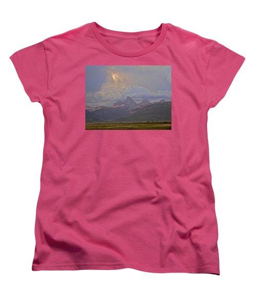Light Storm Women's T-Shirt (Standard Cut) by Eric Tressler