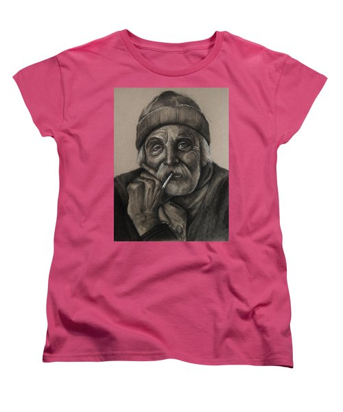 Lighthouse Keeper Women's T-Shirt (Standard Cut) by Jean Cormier