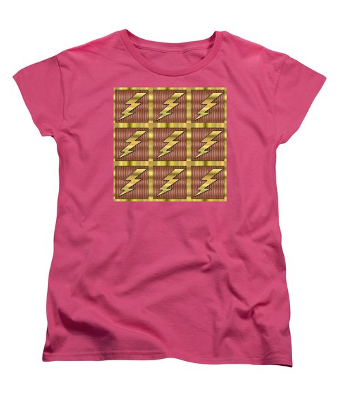 Lightning Bolt Group - Transparent Women's T-Shirt (Standard Cut) by Chuck Staley