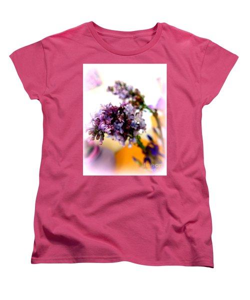Lilac Beauty Women's T-Shirt (Standard Cut) by Marlene Rose Besso