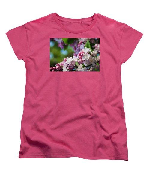Lilacs Of Spring Women's T-Shirt (Standard Cut) by Joni Eskridge
