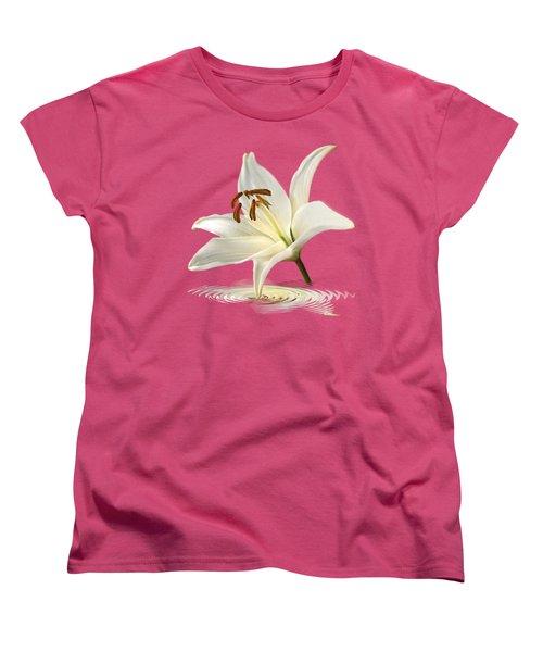 Lily Trumpet Women's T-Shirt (Standard Cut) by Gill Billington