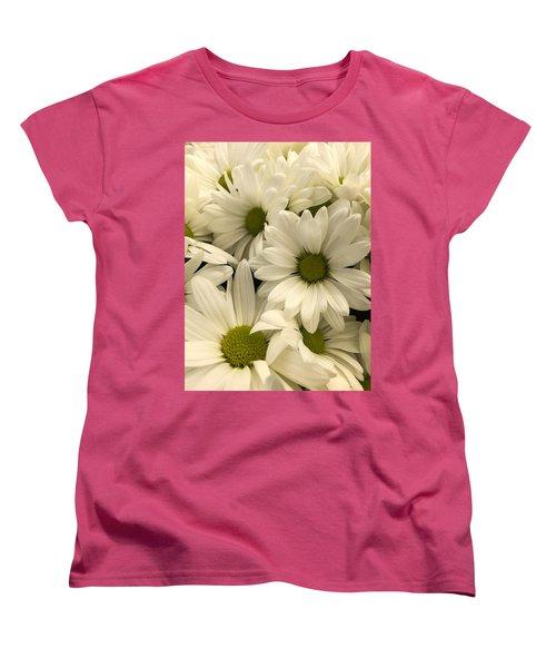 Lime Center Women's T-Shirt (Standard Cut) by Arlene Carmel