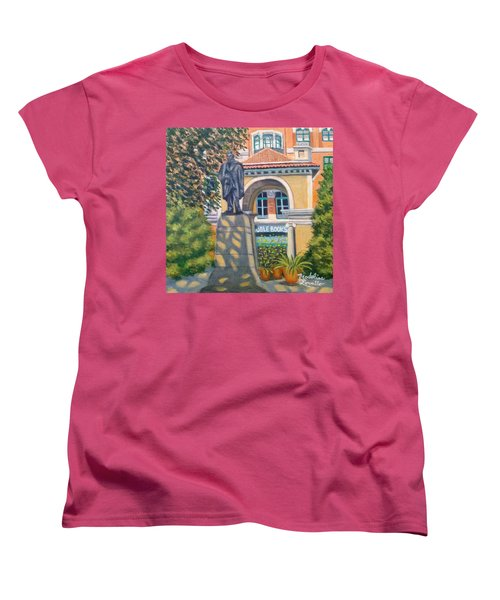 Lincoln At Union Square, N.y. Women's T-Shirt (Standard Cut)