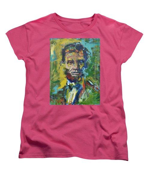 Lincoln Women's T-Shirt (Standard Cut) by Robert Joyner