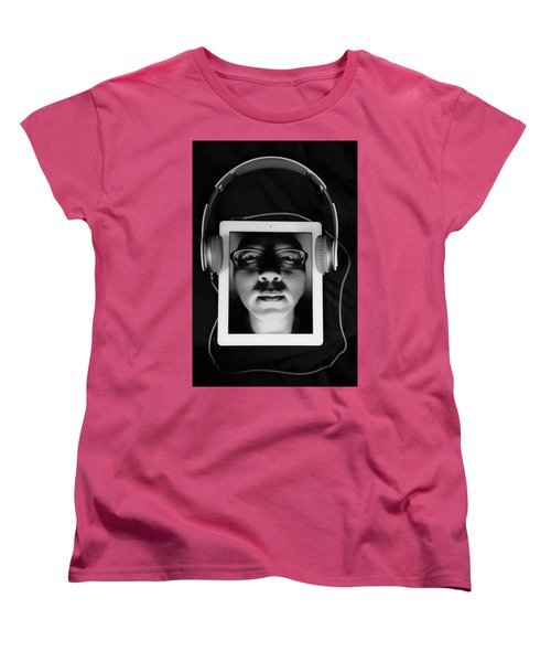 Listen To Inner Voice Women's T-Shirt (Standard Cut) by Hyuntae Kim