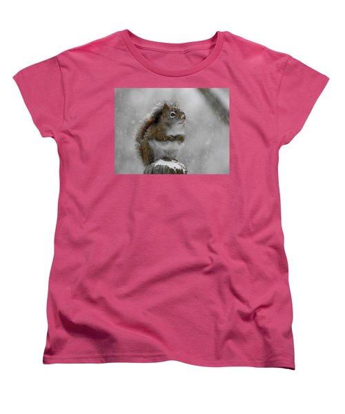 Little Begger Women's T-Shirt (Standard Cut) by Betty-Anne McDonald