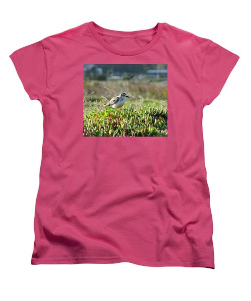 Women's T-Shirt (Standard Cut) featuring the photograph Little Bird by Yurix Sardinelly
