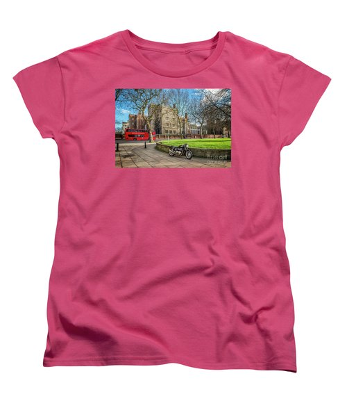 Women's T-Shirt (Standard Cut) featuring the photograph London Transport by Adrian Evans