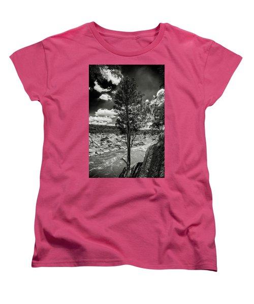 Lone Tree Women's T-Shirt (Standard Cut) by Paul Seymour
