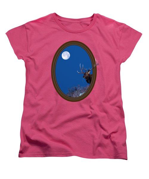 Women's T-Shirt (Standard Cut) featuring the photograph Looking Beyond by Shane Bechler