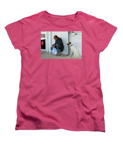 Women's T-Shirt (Standard Cut) featuring the photograph Lottery Ticket by Joe Jake Pratt