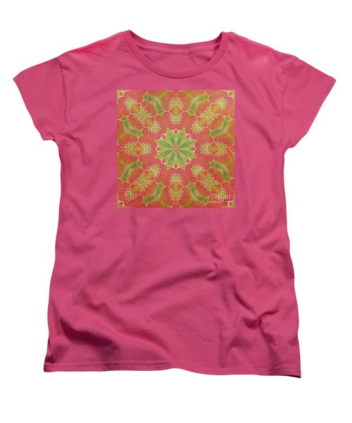Lotus Garden Women's T-Shirt (Standard Cut) by Mo T