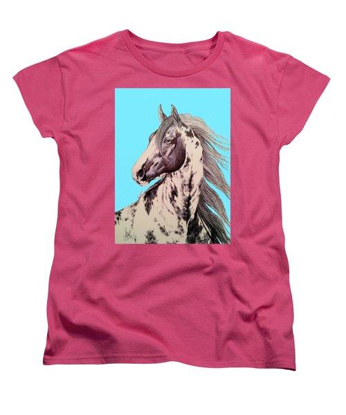 Loud Paint 09925 Women's T-Shirt (Standard Cut) by Cheryl Poland