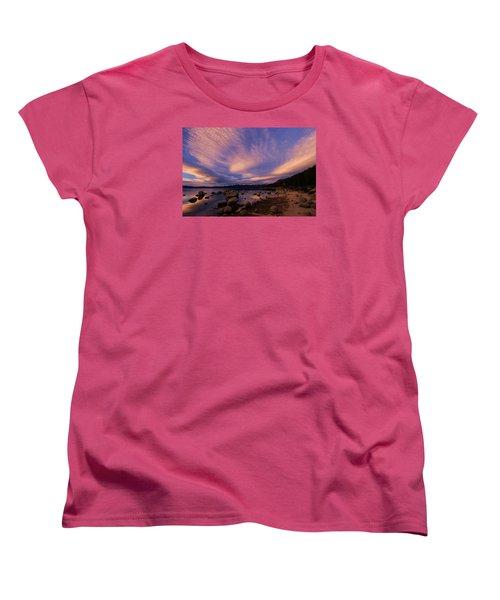 Love Is A Rocky Road Women's T-Shirt (Standard Cut) by Sean Sarsfield
