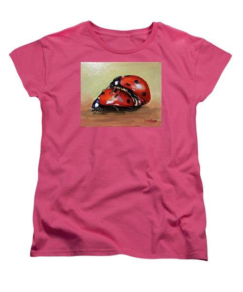 Love Women's T-Shirt (Standard Cut) by Janet Garcia