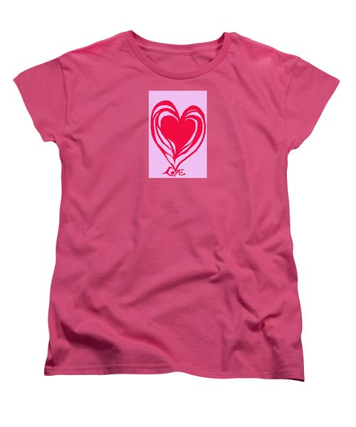 Love Women's T-Shirt (Standard Cut) by Mary Armstrong