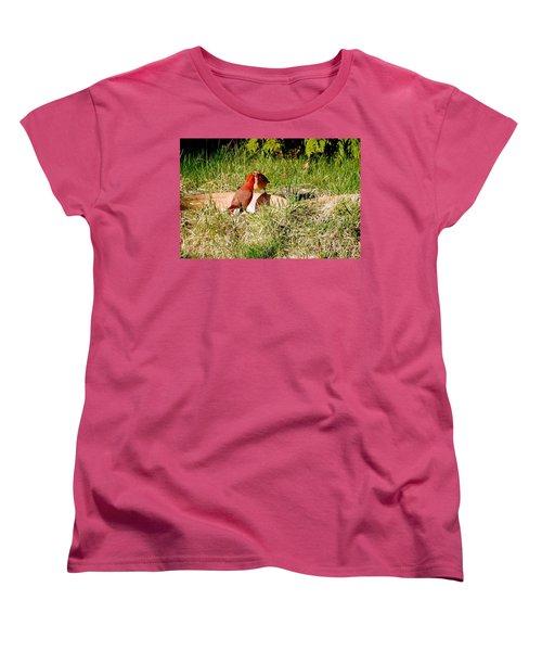Lovers Women's T-Shirt (Standard Cut) by Vicky Tarcau