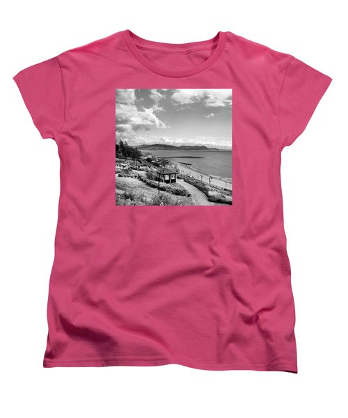 Lyme Regis And Lyme Bay, Dorset Women's T-Shirt (Standard Cut) by John Edwards