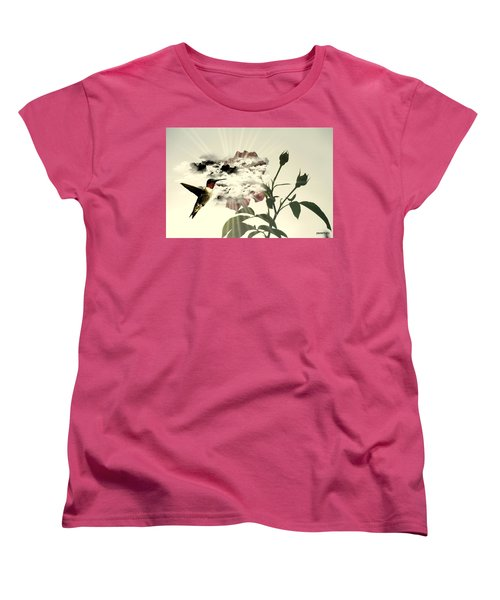 Magic Flower Women's T-Shirt (Standard Cut) by Paulo Zerbato