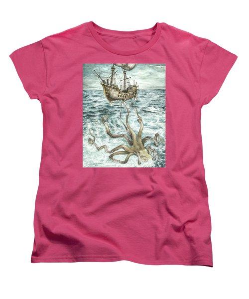 Maiden Voyage Women's T-Shirt (Standard Cut) by Arleana Holtzmann
