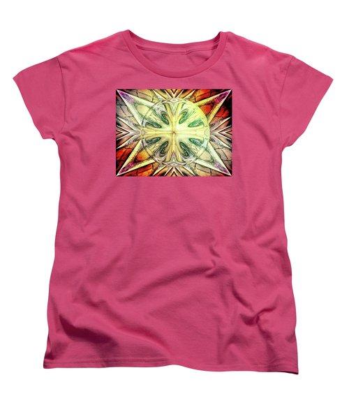 Mandala Women's T-Shirt (Standard Cut) by Beto Machado
