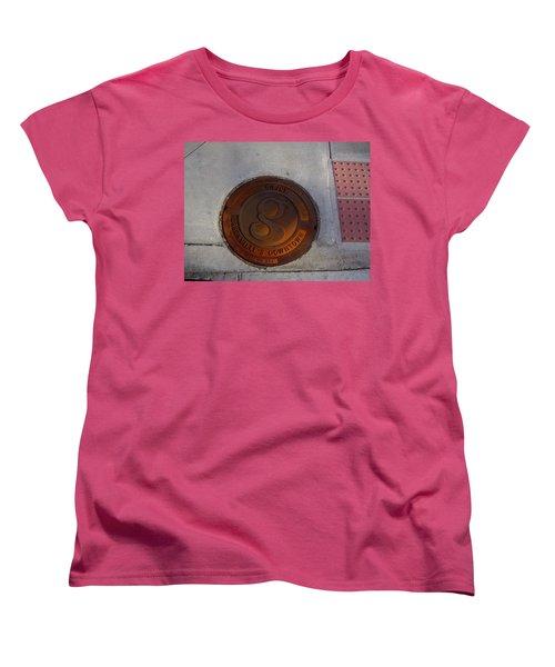 Manhole I Women's T-Shirt (Standard Cut) by Flavia Westerwelle