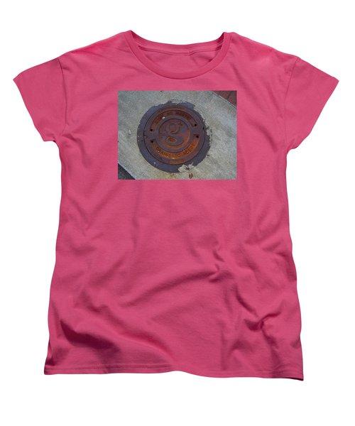 Manhole IIi Women's T-Shirt (Standard Cut) by Flavia Westerwelle
