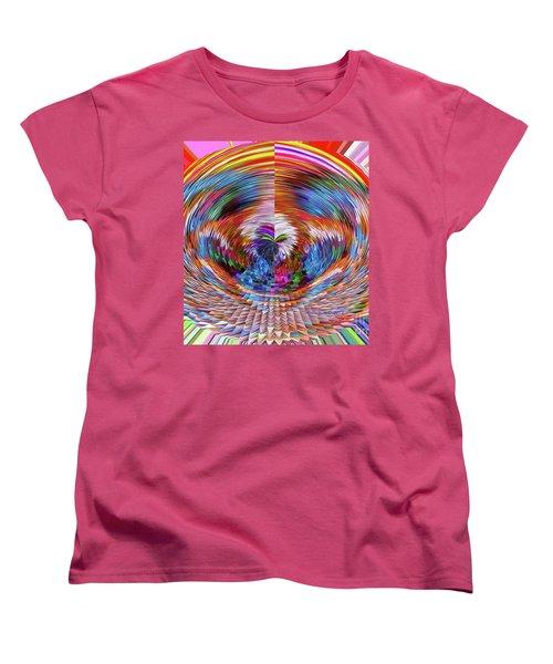Many Colors Of Love  Women's T-Shirt (Standard Cut)