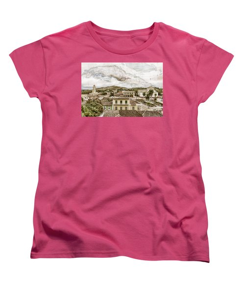 Mapping Trinidad Women's T-Shirt (Standard Cut)