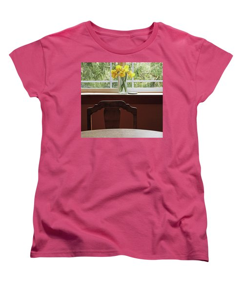 March Women's T-Shirt (Standard Cut) by Laurie Stewart