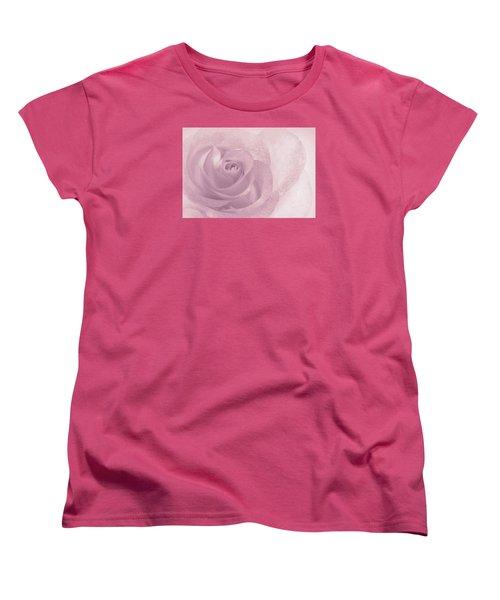 Marilyn's Dream Rose Women's T-Shirt (Standard Cut) by The Art Of Marilyn Ridoutt-Greene