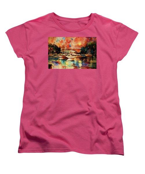 Marina Women's T-Shirt (Standard Cut) by Al Brown