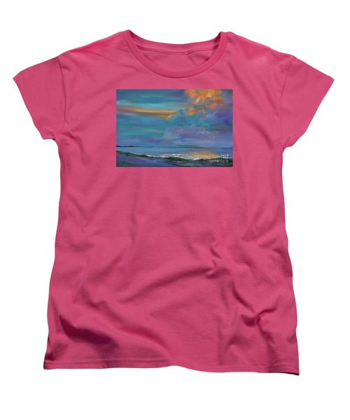 Mariners Beacon Women's T-Shirt (Standard Cut) by AnnaJo Vahle