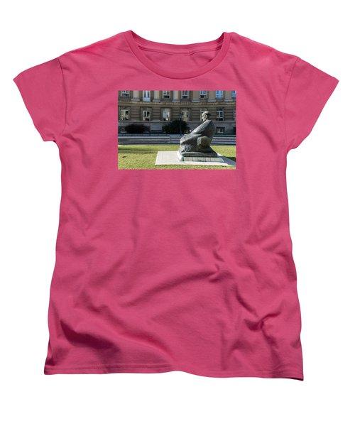 Marulic Square Zagreb  Women's T-Shirt (Standard Cut)