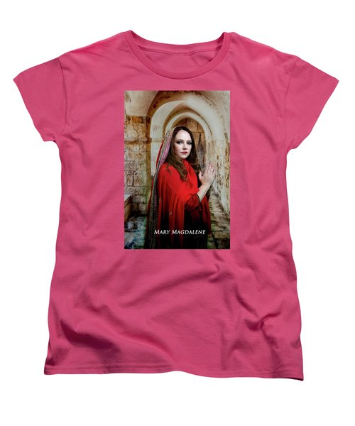 Mary Magdalene Women's T-Shirt (Standard Cut) by David Clanton