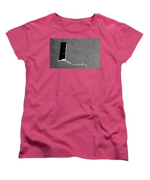 Women's T-Shirt (Standard Cut) featuring the photograph Masonic Window by CML Brown
