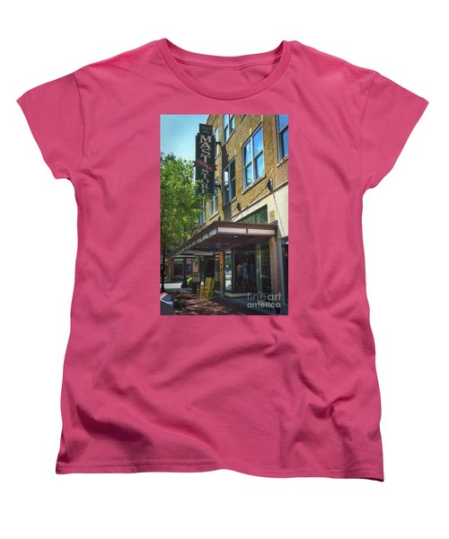 Women's T-Shirt (Standard Cut) featuring the photograph Mast General by Skip Willits