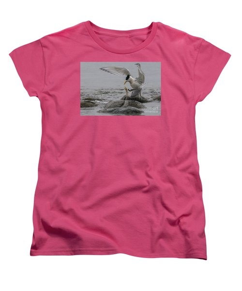 Women's T-Shirt (Standard Cut) featuring the photograph Mating Pair 2 by Werner Padarin