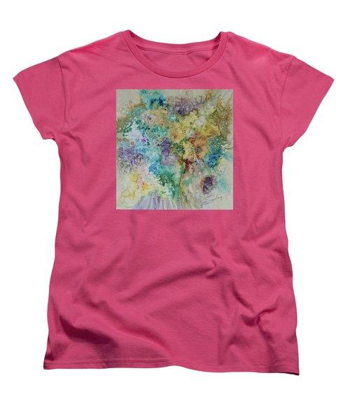 May Flowers Women's T-Shirt (Standard Cut) by Joanne Smoley