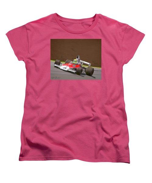 Mclaren M23 Women's T-Shirt (Standard Cut) by Wally Hampton