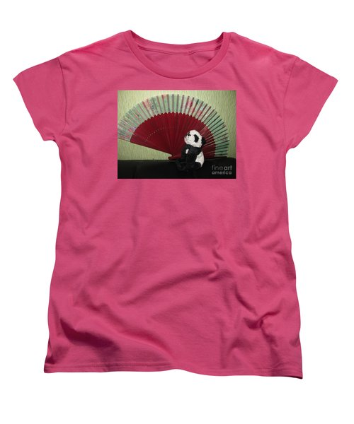 Women's T-Shirt (Standard Cut) featuring the photograph Meditation Hour by Ausra Huntington nee Paulauskaite