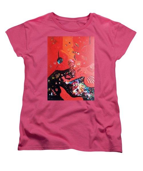 meditation I Women's T-Shirt (Standard Cut) by Sanjay Punekar