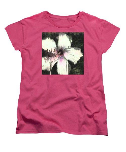 Melting Hibiscus Women's T-Shirt (Standard Cut)