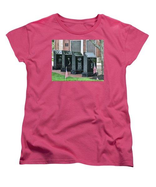 Memorial Day One Women's T-Shirt (Standard Cut) by Caroline Stella