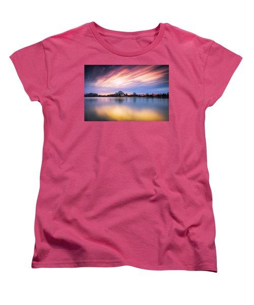 Mental Attitude Women's T-Shirt (Standard Cut) by Edward Kreis