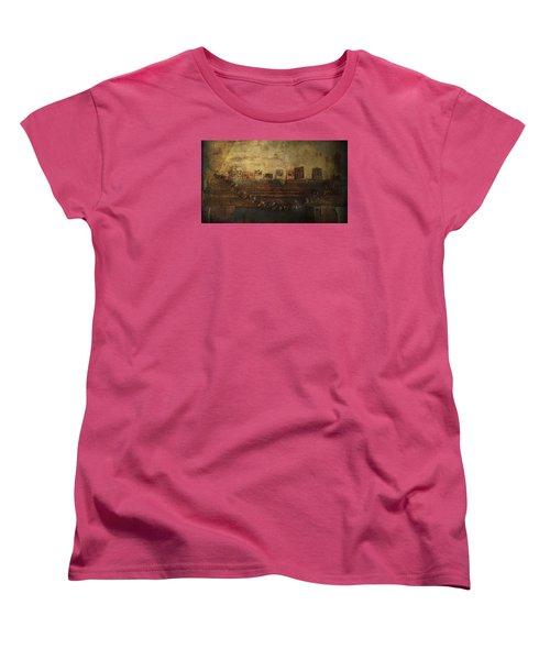 Merry Christmas Women's T-Shirt (Standard Cut) by Vittorio Chiampan