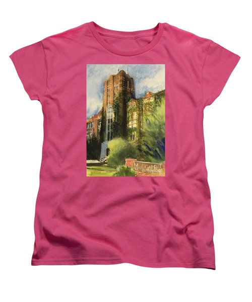 Michigan Union Women's T-Shirt (Standard Cut) by Yoshiko Mishina