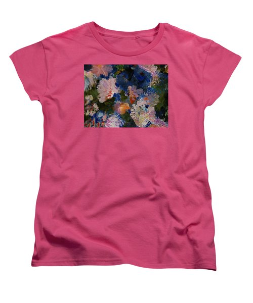 Midnight Summer's Dream Women's T-Shirt (Standard Cut) by Nancy Kane Chapman