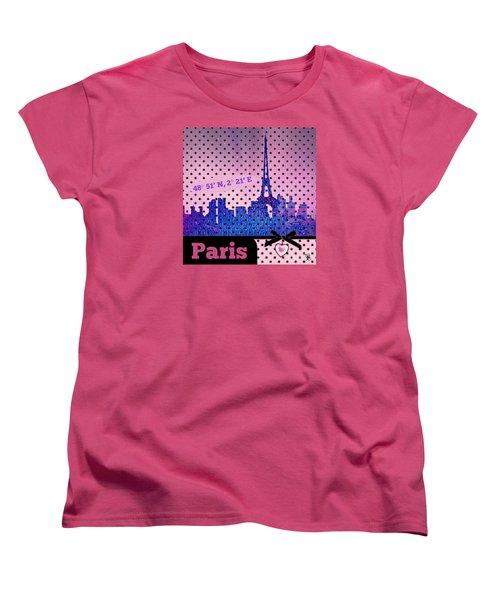 Mindy Jo's Paris  Women's T-Shirt (Standard Cut)